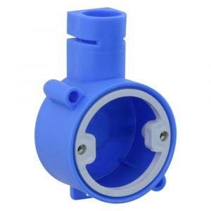 Haf inbouwdoos klein 3101 diameter 5/8 inch blauw - Y50400998 - afbeelding 1