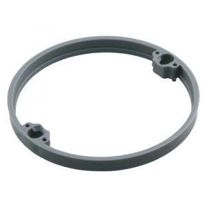 Attema correctiering voor inbouwdoos 6 mm grijs set 10 stuks - A50401002 - afbeelding 1