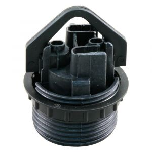Schroefrandfitting E27 met ring maximaal 60 W zwart - A50400970 - afbeelding 1