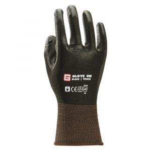 Glove On Black Touch handschoen maat 9 L zwart - A50400071 - afbeelding 1