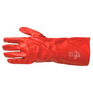 Basic 371 PVC werkhandschoen zuurbestendig lang - Y50400053 - afbeelding 1