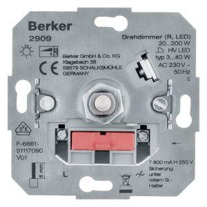 Berker dimmer element inbouw LED 3-40 W universeel draai-uit - Y50401305 - afbeelding 1