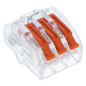 Q-Link lasklem 3-polig hersluitbaar 4 mm2 set 10 stuks - A50401104 - afbeelding 1