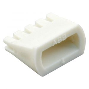 Q-Link keg kunststof voor installatiebuis wit set 25 stuks - Y50401026 - afbeelding 1