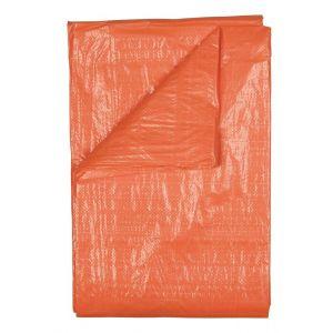 Master 99302 dekzeil oranje licht 80 g 2x3 m - Y50400037 - afbeelding 1