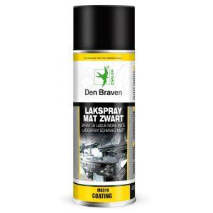 Zwaluw Lakspray zwart mat 400 ml - Y51250359 - afbeelding 1