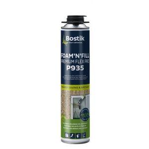 Bostik P935 Foam 'n' Fill Premium Flex Pro purschuim elastisch 750 ml wit - A51250325 - afbeelding 1