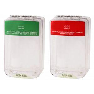 Maasland PS2000 beschermkap rood-groen met LED en - A11301005 - afbeelding 1