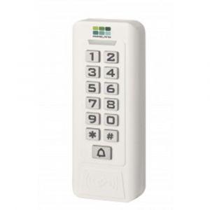 Maasland Security elektronisch codetableau-kaartlezer kunststof wit 12 V AC/DC - Y11300674 - afbeelding 1