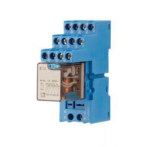 Maasland Security relais 24V~ 10 Amp met voet - Y11300806 - afbeelding 1