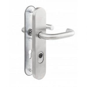 Maasland Security veiligheidsdeurbeslag kruk-kruk PC72 aluminium SKG*** - Y11300776 - afbeelding 1