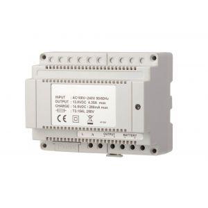 Maasland Security netvoeding DIN rail 4,5 Amp 12 V= - Y11300808 - afbeelding 1