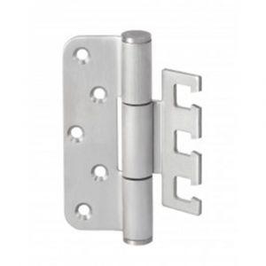 Maasland Security scharnier voor stompe deur met een deurgewicht tot 120 kg - Y11300019 - afbeelding 1
