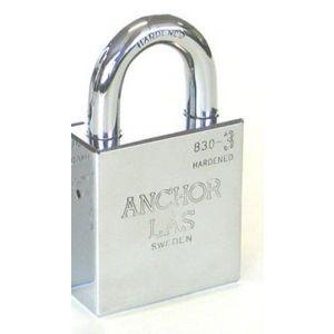 Evva Angor las huis 830-3 B28 exclusief cilinder SKA 60 mm breed beugel 11 mm 28 mm hoog - Y22102598 - afbeelding 1