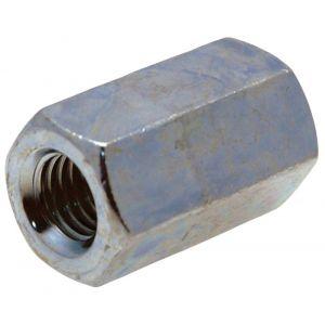 GebuVolco 387 zeskante koppelmoer DIN 6334 M6x18 SW 10 mm ijzer gegalvaniseerd - A50001287 - afbeelding 1