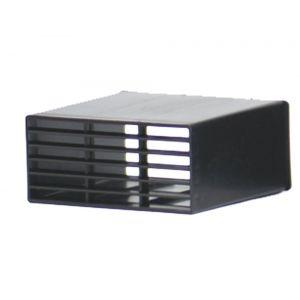 VVKplus 284 muurrooster zwart PP per stuk - Y50001783 - afbeelding 1