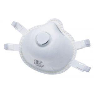 QS 877 stofmasker fijnstof FFP 3 met uitademventiel V-1095 kunststof - A50001819 - afbeelding 1