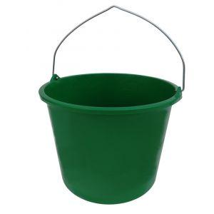 Berdal Gripline-L 12 L bouwemmer groen knopbeugel L-scala - A50200489 - afbeelding 1