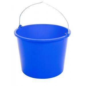 Berdal Gripline-L 12 L bouwemmer blauw knopbeugel L-scala - A50200485 - afbeelding 1