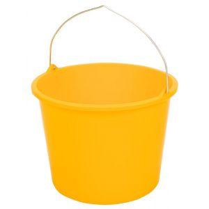 Berdal Gripline-L 12 L bouwemmer geel knopbeugel L-scala - A50200487 - afbeelding 1
