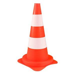 Berdal Gripline kegel 50 cm oranje wit - A50200430 - afbeelding 1