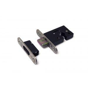 Dulimex DX DSKG 7500 PC insteek-veiligheids-nachtschootslot voor Euro profielcilinder DX SKG** RVS voorplaat (sluitkom) en slotplaat met afgeronde hoeken slotkast - Y30201957 - afbeelding 1