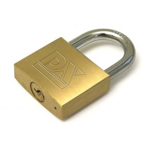 Dulimex DX HS 201B KA cilinderhangslot DX 20 mm op sleutelnummer 201 dubbel vergrendeld - Y30201499 - afbeelding 1