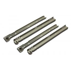 Dulimex DX LGR 302B ladegeleider totale lengte 300 mm staal wit gelakt - Y30202812 - afbeelding 1