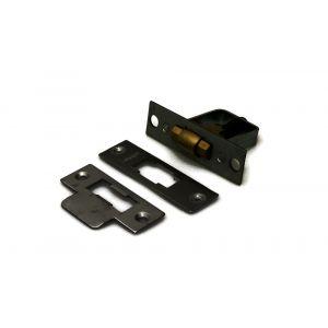 Dulimex DX TRS 050 PB tonrolsnapper E 1511 PB voorplaat 22x76 mm diepte 51 mm messing gepolijst - A30203736 - afbeelding 1