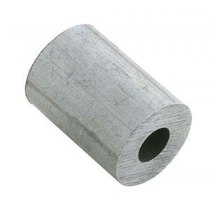 Dulimex DX 440-20AL eindstop 2.0 mm aluminium - Y30200906 - afbeelding 1