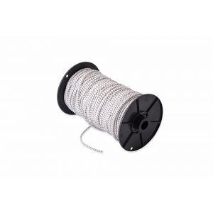Dulimex DX PGS.060.WIT-H gummikoord 6 mm wit-merkdraad op rol 100 m - Y30203188 - afbeelding 1