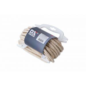 Dulimex DX SIS060BRN-H10 sisal 3-strengs 6 mm naturel handhouder 10 m - A30203233 - afbeelding 1