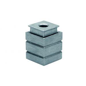 Deni STOFPOT 10 sluitpot 10 mm instort model uitneembaar voor schoonmaken voor pompespagnolet stangen - A13002749 - afbeelding 1