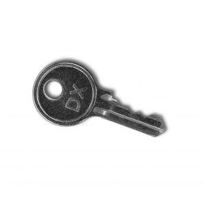 Dulimex DX H 020/025B blinde sleutel voor HS 020B KD-KA- 025B KD-KA-serie - A13001979 - afbeelding 1