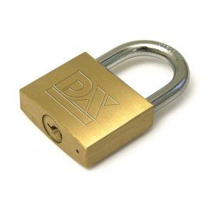 Dulimex DX HS 201B KA cilinderhangslot DX 20 mm op sleutelnummer 201 dubbel vergrendeld - A13001935 - afbeelding 1
