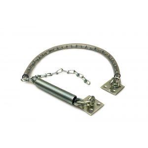 Dulimex DX DV 804B RVS stormketting met kettinghoes standaard uitvoering deuren 30 tot 40 kg RVS - A13003306 - afbeelding 1