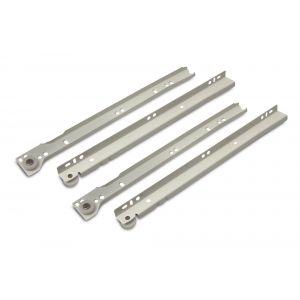 Dulimex DX LGR 302B ladegeleider totale lengte 300 mm staal wit gelakt - A13003448 - afbeelding 1