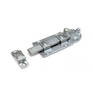 Dulimex DX ZRS 100BV rolschuif 44x100 mm schootdikte 4 mm vlak model staal verzinkt - A13003183 - afbeelding 1