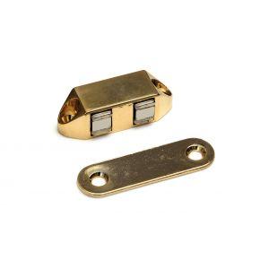 Polair MC 100407B magneetsnapper Polair type 5123 opschroevend 4 kg zamac verguld - A13002840 - afbeelding 1