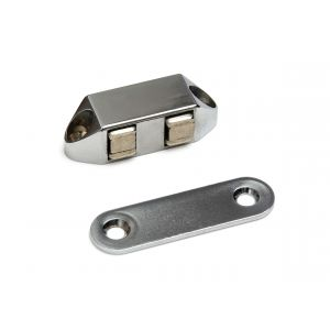 Polair MC 100408B magneetsnapper Polair type 5113 opschroevend 4 kg zamac verchroomd - A13002841 - afbeelding 1