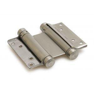 Dulimex DX DVD 100/30 BV Bommer scharnier dubbelwerkend 30/100 mm deurdikte 25-30 mm staal blank verzinkt - A13002077 - afbeelding 1