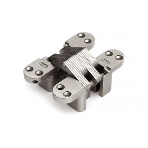 Soss MSO 212 NP scharnier Soss 212 NP 19x95 mm deurdikte 28 mm zamac vernikkeld - A13002391 - afbeelding 1