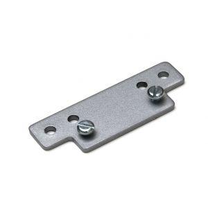 Justor DRVH 6 SE opdekplaat Justor voor smalle kozijnen zilvergrijs - A13002702 - afbeelding 1
