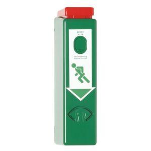 GFS DW 990 GFS EH-Exit control voor deurkrukken inclusief vooralarm stalen huis profielcilinder half 2 sleutels 9 V batterij pictogrammen en bevestigings materiaal EN 179 95 dB - A13002987 - afbeelding 1