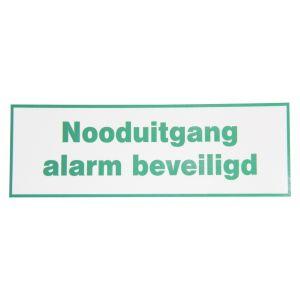 GFS SP 392 pictogram Nooduitgang alarm beveiligd 209x98 mm - A13003011 - afbeelding 1