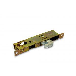 Dulimex DX SSH PC 30 insteek-haaksmalslot doornmaat 30 mm schootuitslag 20 mm voor Euro cilinder zonder voorplaat - A13002463 - afbeelding 1