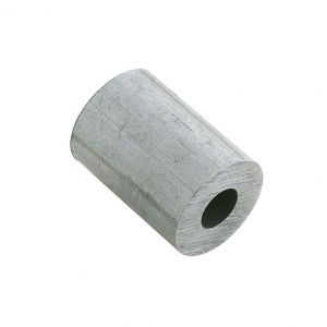 Dulimex DX 440-20AL eindstop 2.0 mm aluminium - A13001149 - afbeelding 1