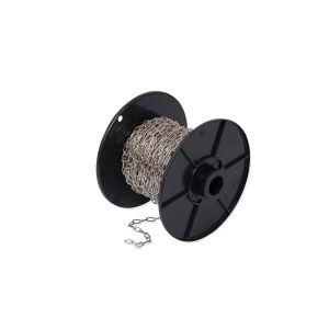Dulimex DX KLK.0112-B klokketting 1,3 mm staal vernikkeld op rol 25 m - A13001764 - afbeelding 1