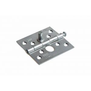 Dulimex DX H161-76762015 scharnier rechte hoeken 76x76 mm losse verzinkte pen staal verzinkt SKG** - A13002194 - afbeelding 1