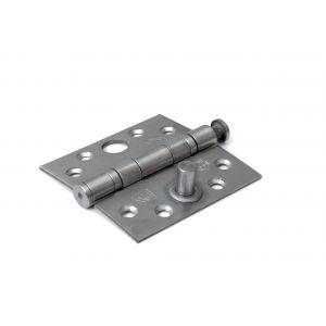 Dulimex DX H362-76762025 kogellagerscharnier rechte hoeken 76x76 mm RVS pen RVS geborsteld SKG** - A13002222 - afbeelding 1